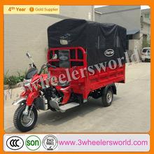 Chongqing Manufactor Rear Seat Trike/Plastic Ride on Trike/Petrol Motor Trike for Sale
