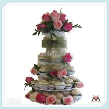 5 tiers acrylic cake stand,acrylic cake display stand,acrylic cake display