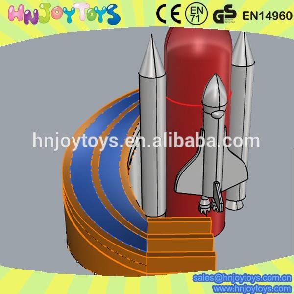 Rocket Water Slide Water Slide For Sale