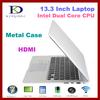 "Ultrathin 13.3"" i5 Notebook computer, Dual core 1.80GHz, Notebook 4GB RAM,128GB SSD, Webcam,WIFI,Bluetooth, 8400Mah Battery"