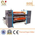 Automática de alta velocidad de rollo de papel térmico convertidores, electrocardiogramas de papel rebobinadora cortadora, punto de venta de papel de corte de la máquina