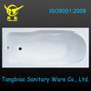 Cheap Acrylic Bathtub for bathroom, Acrylic Transparent Bathtub from China factory,plastic bathtub for adult