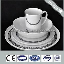 Porcelain handpainting light weight dinner set