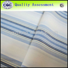 Best quality yarn dyed stretch indian cotton fabric wholesale