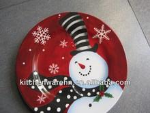 haonai 2013 hot sale!christmas tree plate