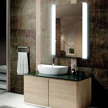 Recessed Medicine Bathroom Jewelry Cabinet Mirror