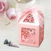Elegant Decorative red Wedding Favor Box
