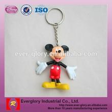 Hot 3D Customd famous Anime Cartoon Action Custom Keychain Figure, Figure keychain, cartoon character keychains
