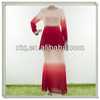 New stylish beaded chiffon model baju muslim 2013