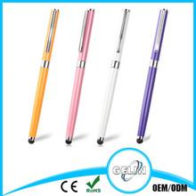 steel stylus ballpoint pen with cap