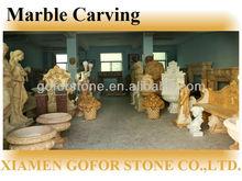 bella sculture di pietra di marmo