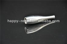 China electronics market dry herb vaporizer wax pen 2.5ml dual coil stainless bowling atomizer
