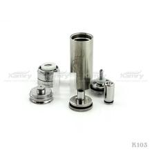 high quality selling season of e cigarette k103 starter kit elegant exterior and beautiful flower on battery tube