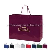 2013 New hot stamping euro tote paper shoppiing bag
