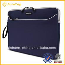 Blue and cheap custom neoprene laptop bag