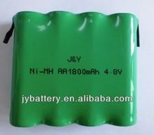 Low self-discharge battery AA/AAA/ 2/3AA flat head battery