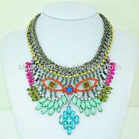 Fabulous Owl Mask Design Costume Jewellery Pendant Necklaces Supplier (SWTN916)