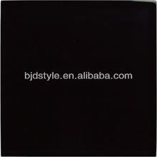 straight Black edge gloss glass tile 4x4 crystal clear glass mosaic(CG4)