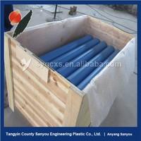 Professional uhmwpe belt conveyor idler with SKF bearing