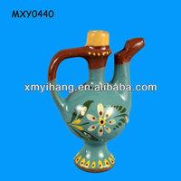Vintage chinese wine pot custom ceramic Antique Ocarina