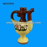 Vintage wine pot custom ceramic Chinese Ocarina
