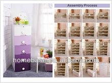 Waterproof Drawer Cabinet / Waterproof antifouling Storage Box with Drawer/ House ware storage plastic bin manufacture