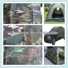 Hot selling polyester taffeta\ oxford\ minimatt\ printed military tent