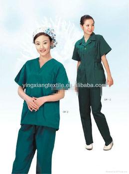 fashion dyed cotton nurse uniform fabric