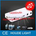 14000 mah bateria recarregável para o carro, telefone, notebook bateria recarregável