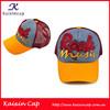 fashion100% polyester mesh cloth high quality 6 panels snapback hats with hot cut printing logo
