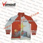 contrast sublimated interlocking lining jacket