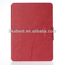 Premium Crazy Horse Pattern Folio Leather Case For iPad Air