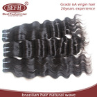 hot products 2014 fashion cheap natural wave 100% virgin unprocessed 5a brazilian hair weave