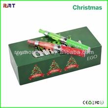 shiny e cigarette decorated with christmas tree ego ce4 starter kit