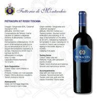 wines awarded from Chianti Tuscany