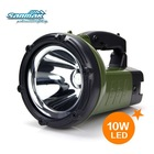 """8"""" LED search light CREE LED spot light big LED torch light for hunting SM5201"""