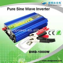 12V/24v 220v 1000w power inverter pure sine wave converter 48v 220v