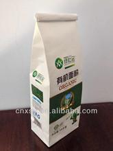 food grade kraft packaging paper bag for flour