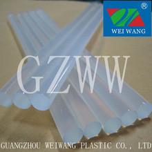 W129 EVA super Hot melt glue stick transparent silicone bars
