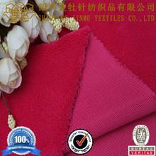 3 layer Polar fleece laminated softshell function men's jacket fabric for clothing
