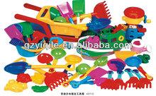 kids plastic beach tool kit YQL-593