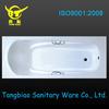small clear Acrylic Bathtub with handles/acrylic transparent bathtub made in China