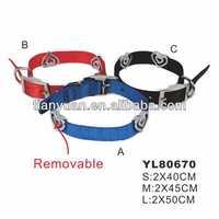 Advertising hot selling low price dog collar, custom pet collar