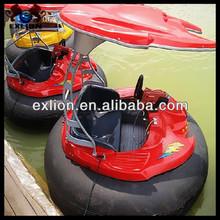 New design greatful children park water bumper boat,battery bumper boat