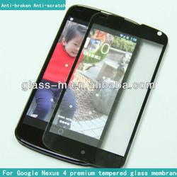 LG Nexus 4 accessories tempered glass screen guard(factory)
