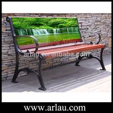 Arlau FW20-2 outdoor advertising wooden benches