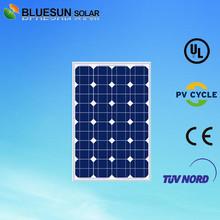 Bluesun good price poly 40w pv solar module and solar panel