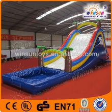 Promotion TOP sale slip n slide inflatable games