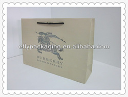 Luxury Paper Shopping Bag with the Horse Design in China