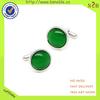 pretty latest design green Studs luxury cufflinks